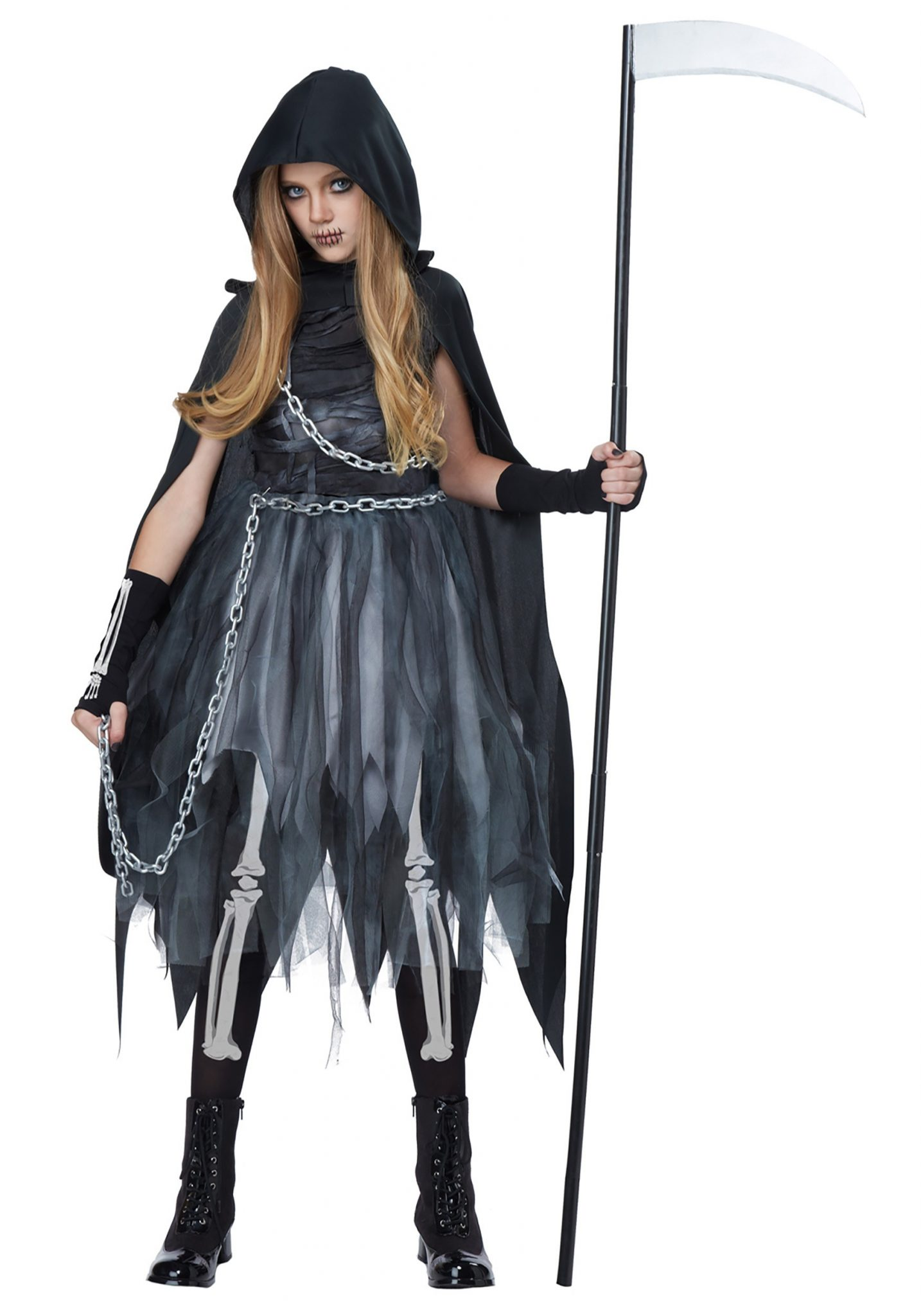Child Reaper Halloween Costumes For Girls