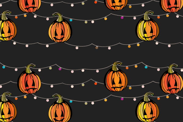 Cool Pumpkin Halloween Background