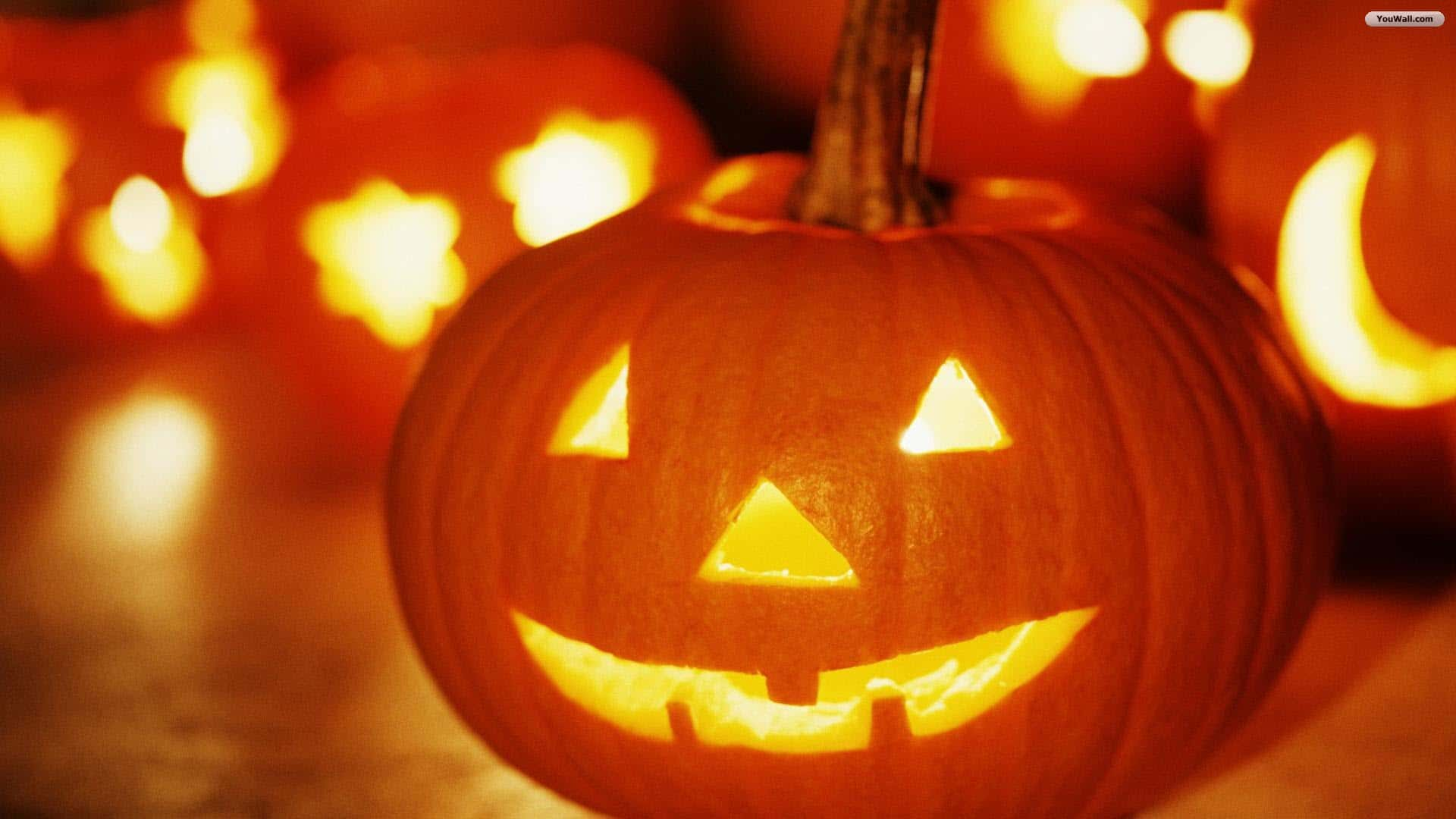 Cool Pumpkin Halloween Backgrounds 2017