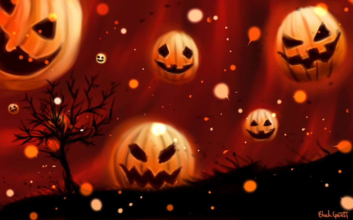 Cool Pumpkin Halloween Backgrounds Pics