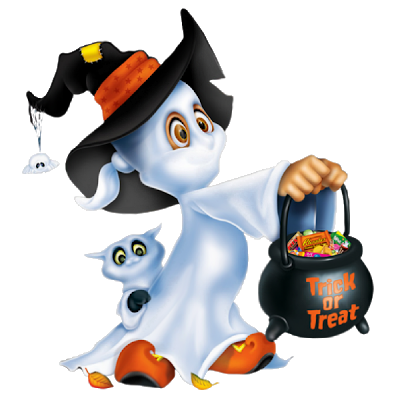Funny Cartoon Ghost Clipart Halloween