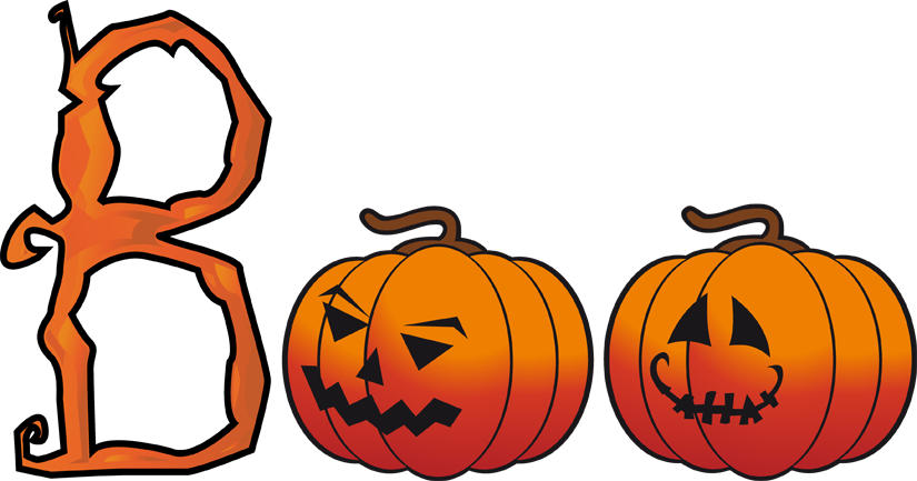 Halloween 2017 pumpkin cliparts