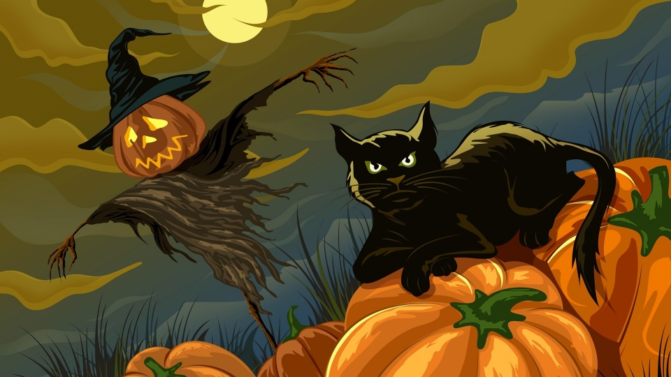 Halloween Animated Background GIf