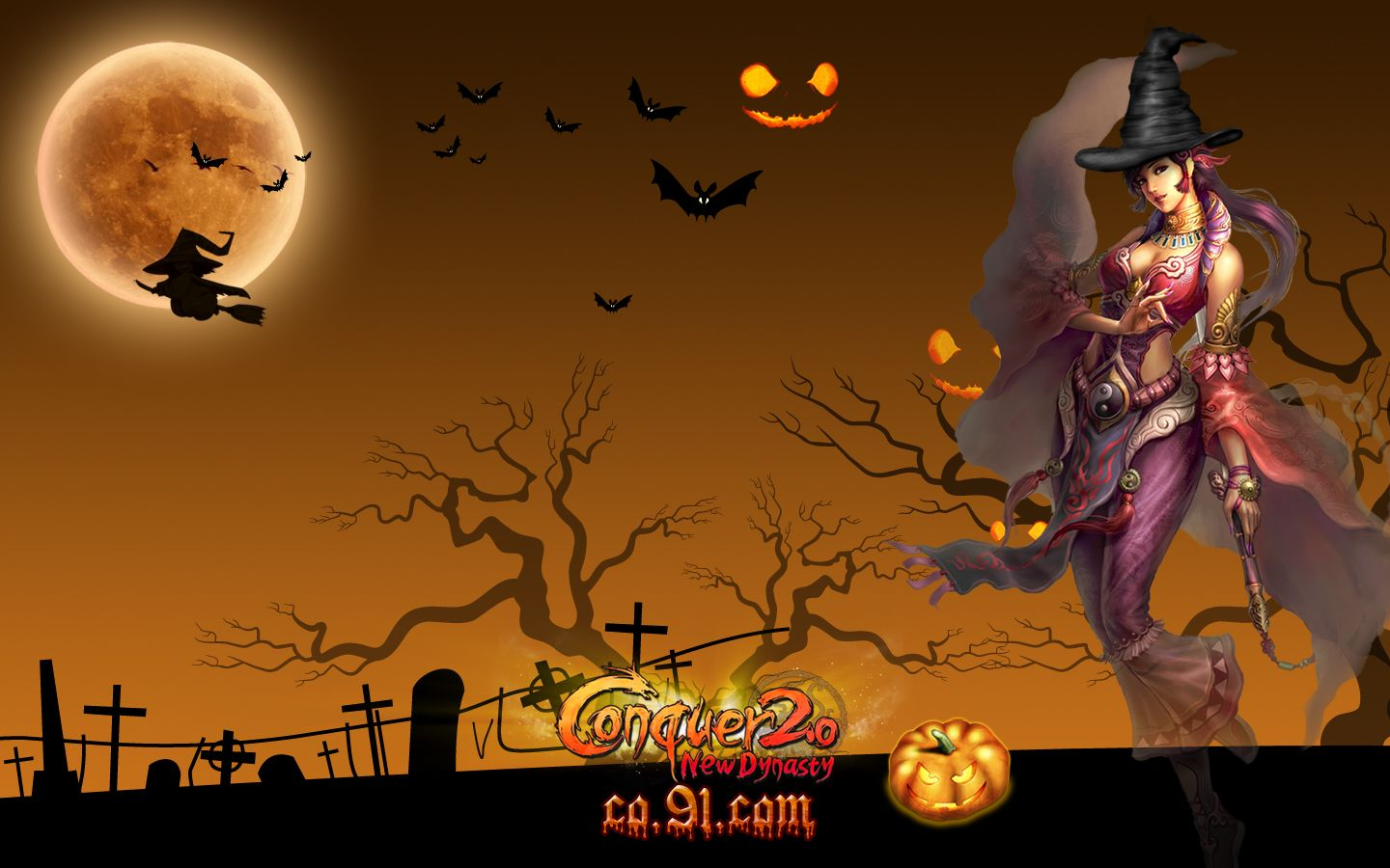 Halloween Animated Background Image