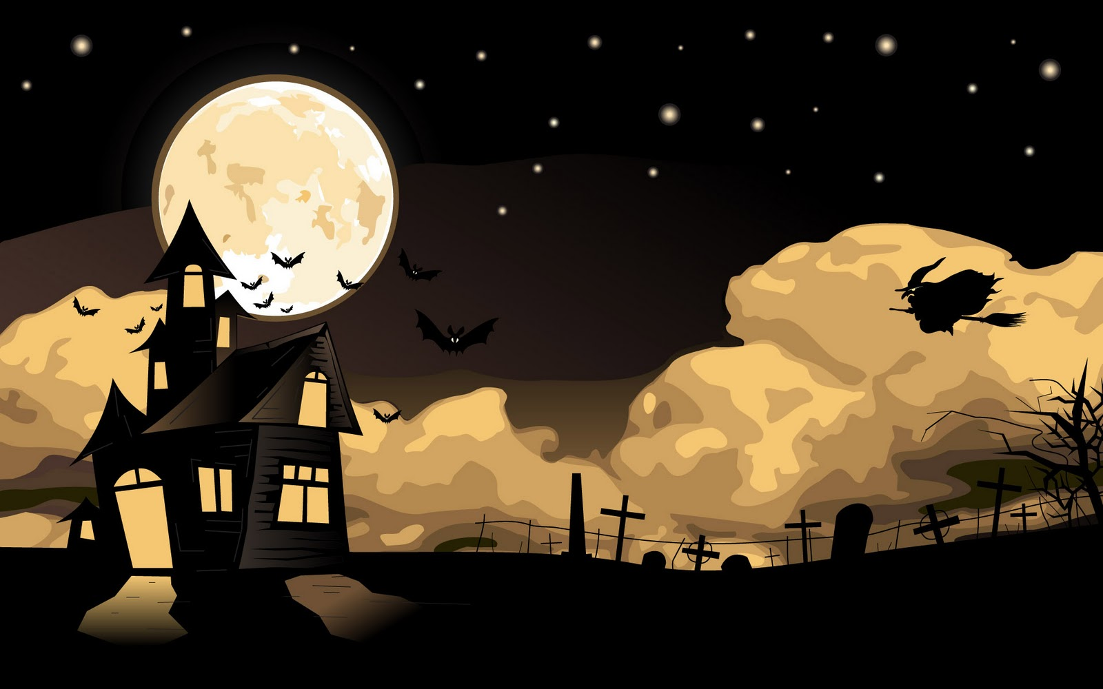 Halloween Animated Background Picture