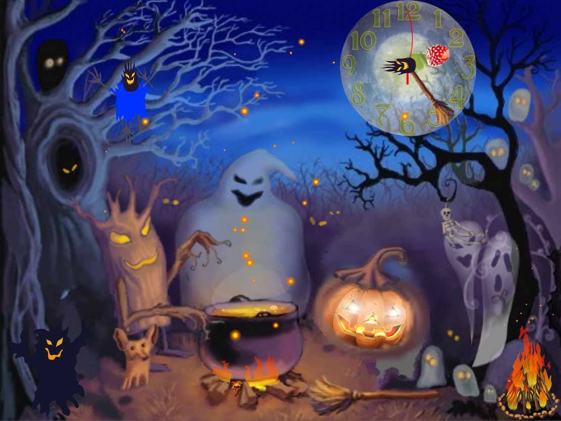 Halloween Animated Background