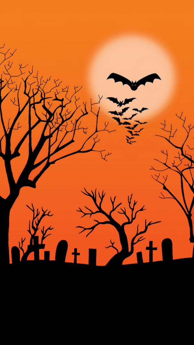 Halloween Bats Backgrounds 2017