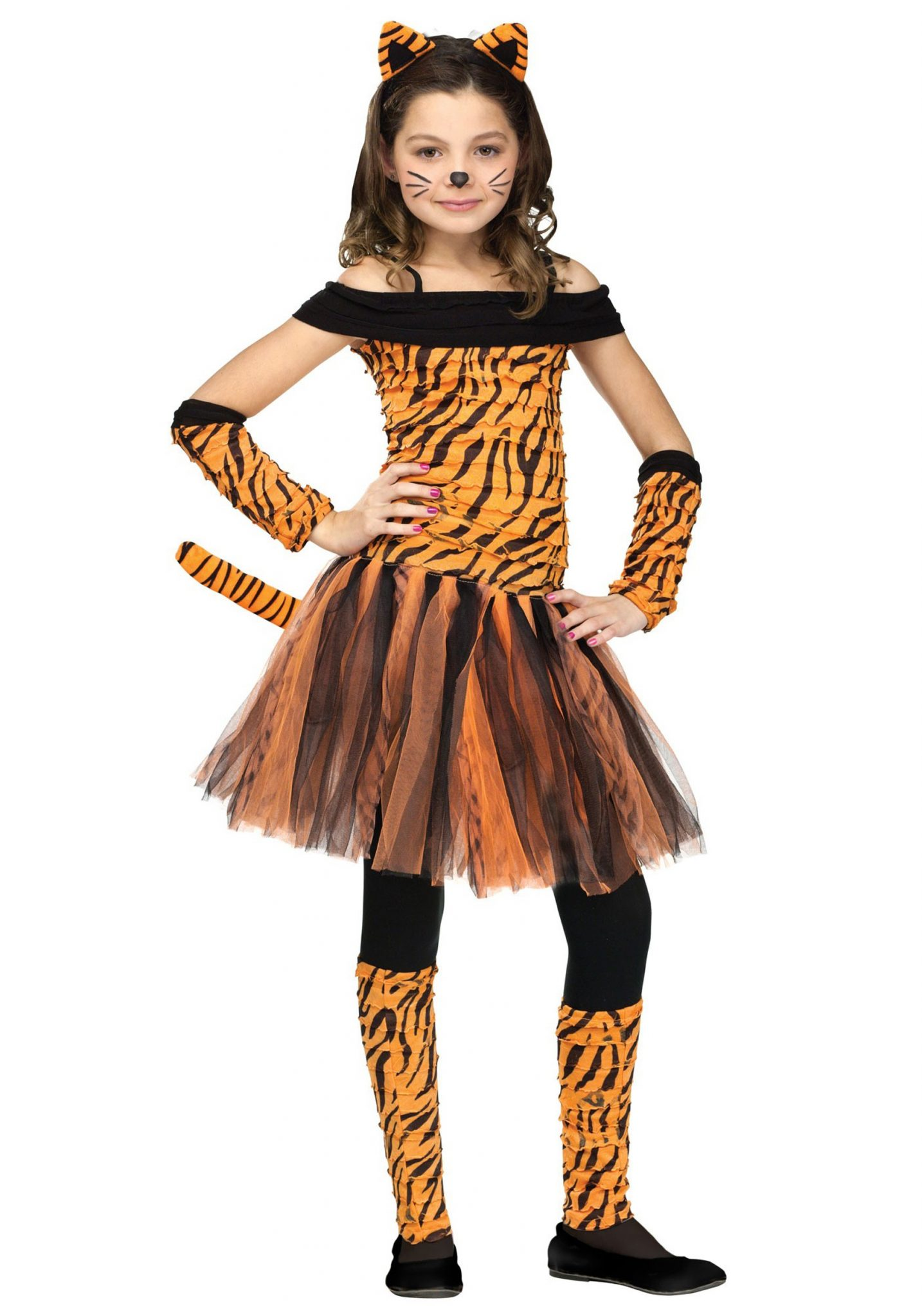 Halloween Costumes For Girls Tigers