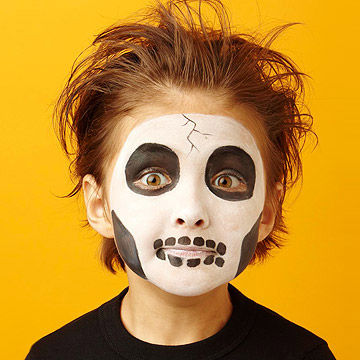 Halloween Face Paint Design