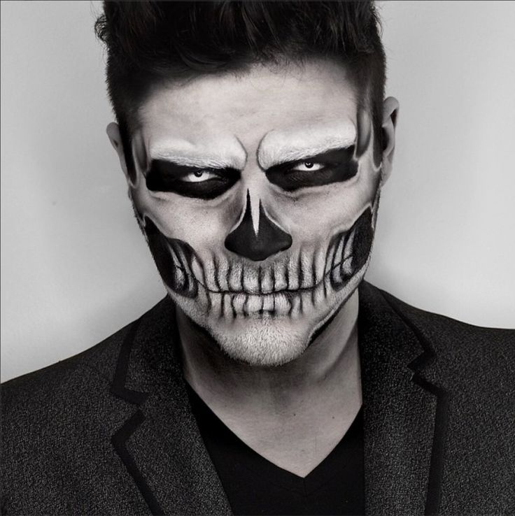 Halloween Face Paint for Adults 2017