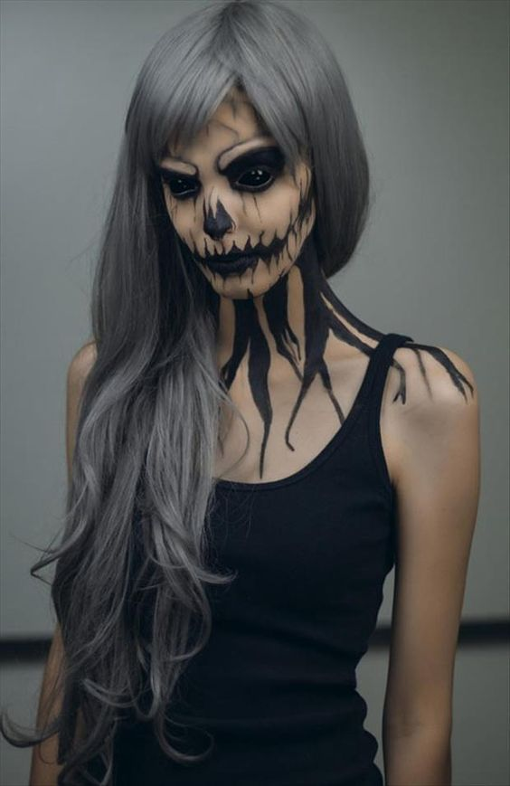 Halloween Face Paint for Adults