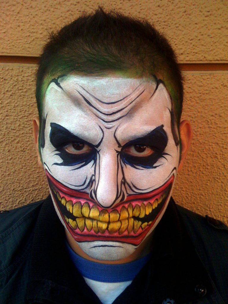 Halloween Face Paint for Men