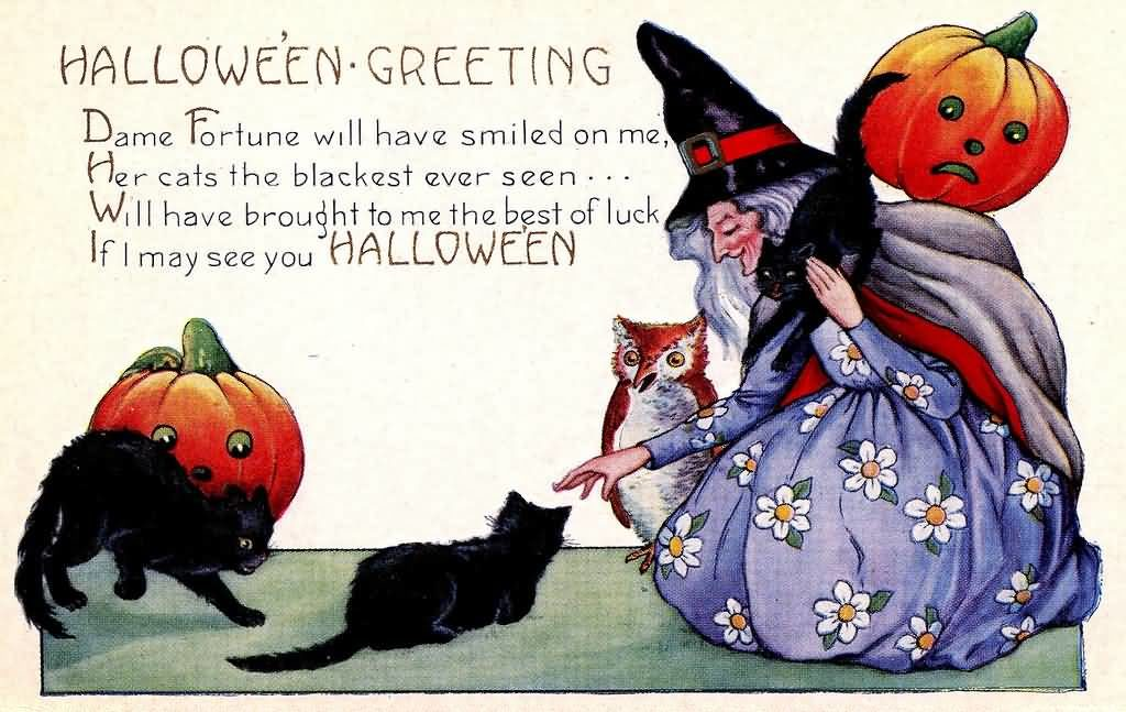 Halloween Greetings quotes