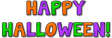 Happy Halloween Clipart Colorful