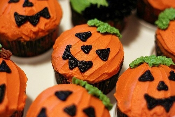 Happy Halloween Cupcakes Ideas