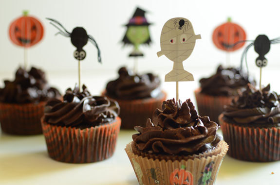 Happy Halloween Cupcakes Pictures