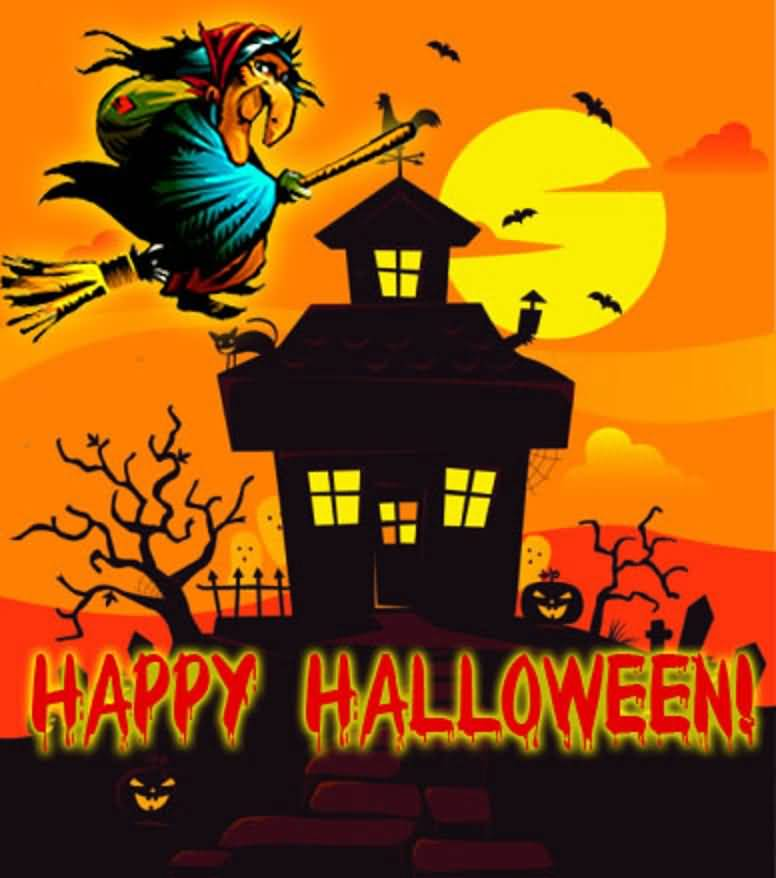 Happy Halloween Greetings Pictures Free