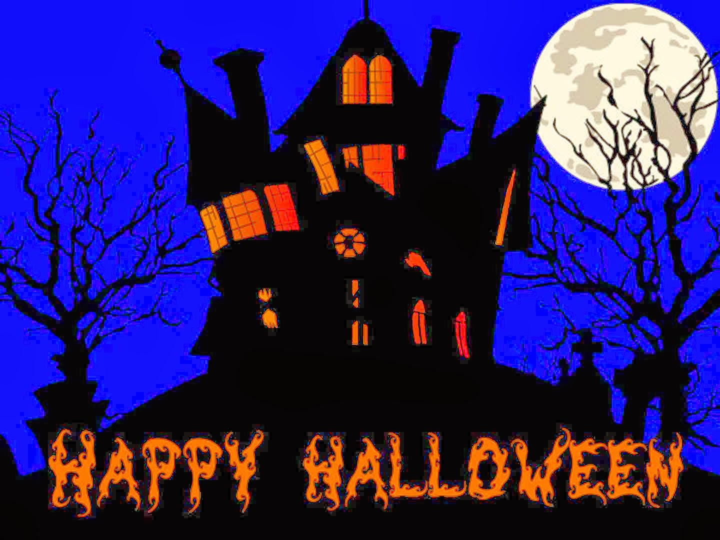 Happy Halloween Wallpaper Background 2017