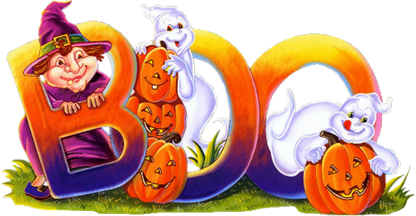 Happy Halloween cliparts