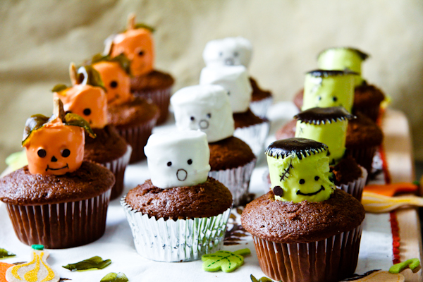 Making Halloween Cupcakes Ideas