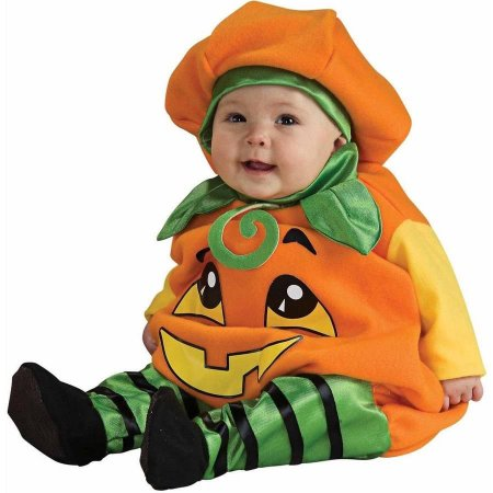 Pumpkin Halloween Costumes For Babies