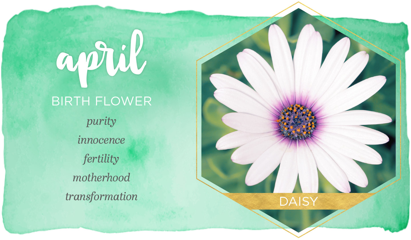 April Birth Flower Meaning