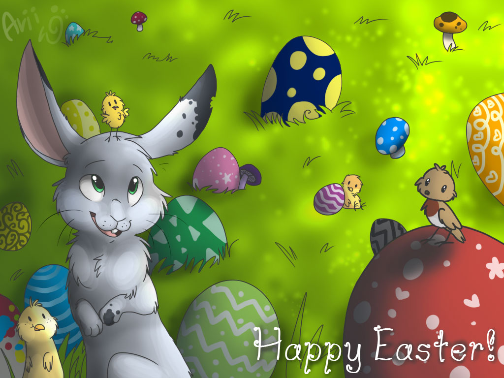 Bunny Wallpaper Easter
