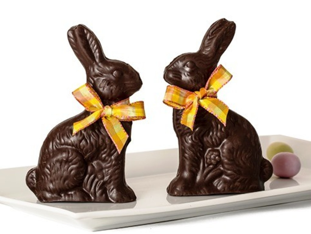 Chocolate Easter Bunny Images