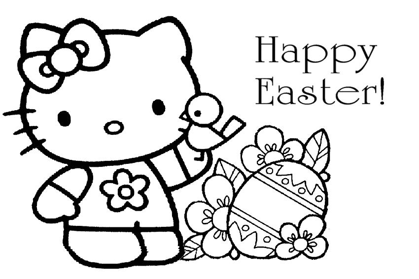 Free Easter Coloring Pages Printable For Kids Kindergarten Preschoolers