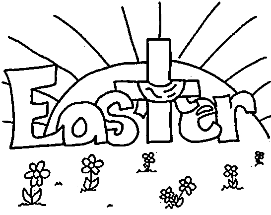 Easter Coloring Pages for Preschoolers