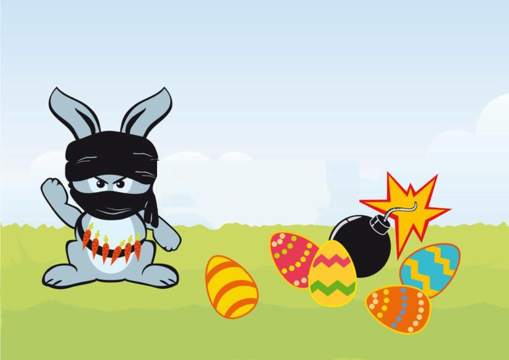 Easter Funny Bunny Images