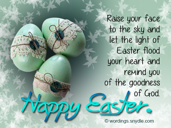 Easter Greetings Messages Free