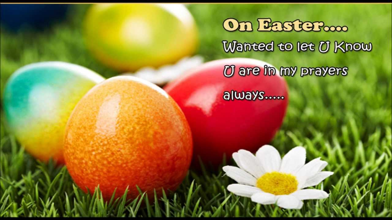 Easter Prayers Sayings for Church