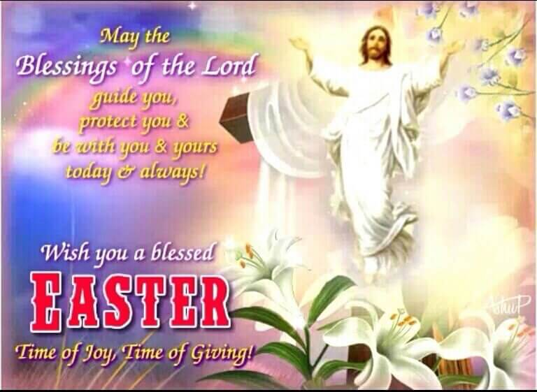 Easter Prayers for Church