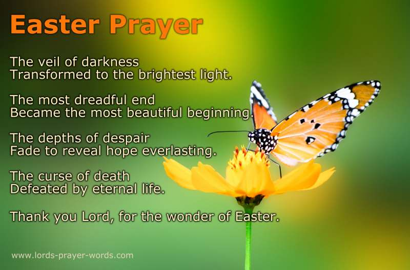 Easter Prayers