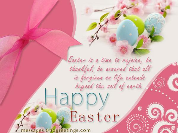 Easter Wishes SMS