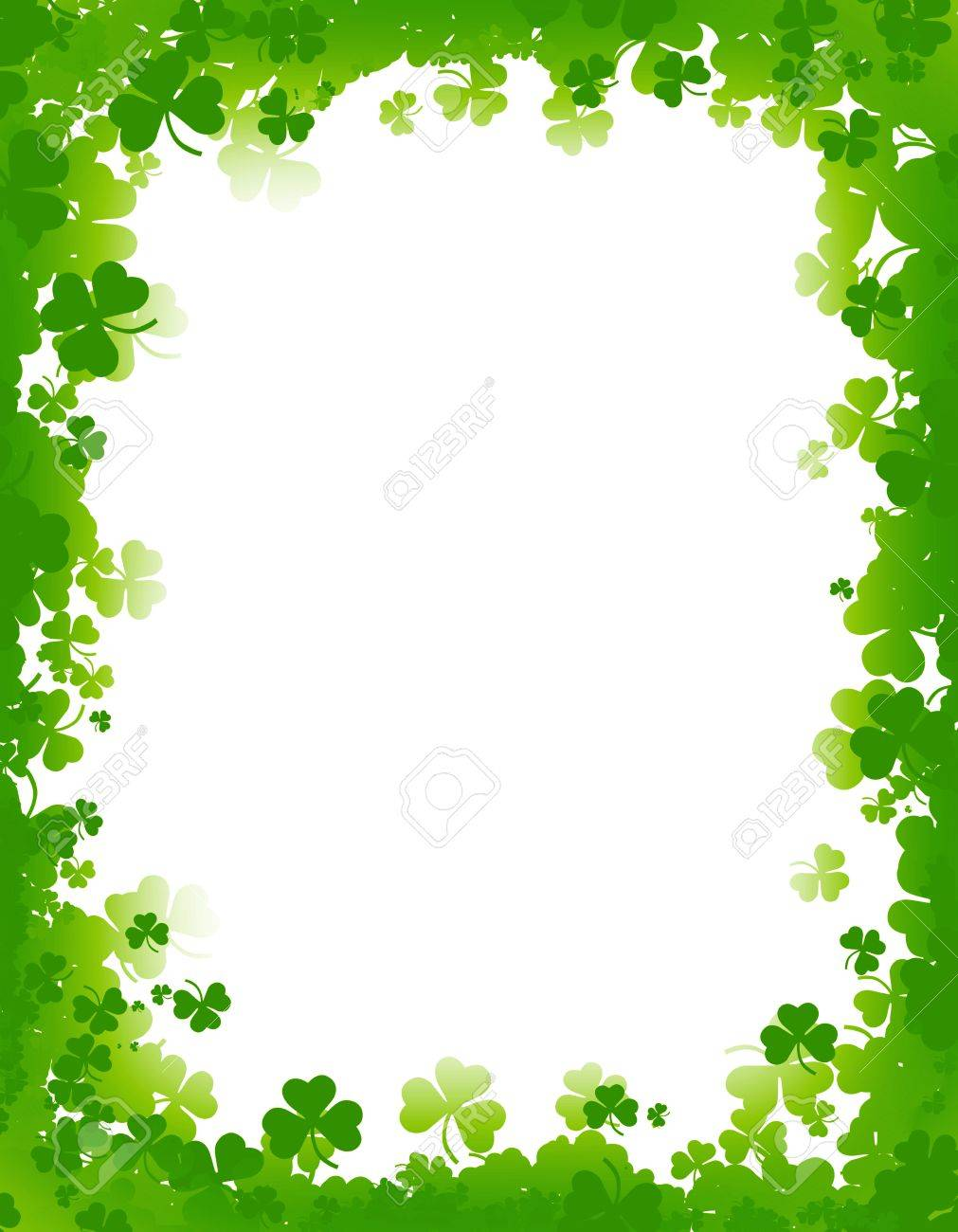 Free St Patricks Day Clipart Borders