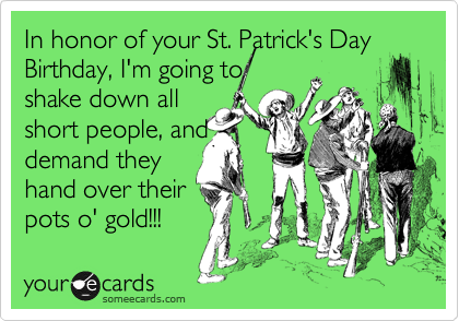Greetings for St Patricks Day