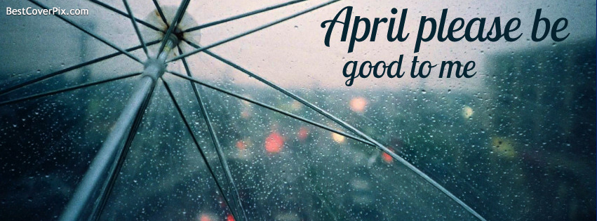 Happy April Facebook Cover