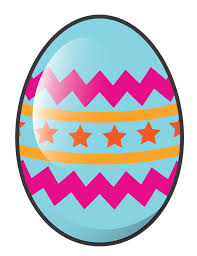 Happy Easter Eggs Clipart