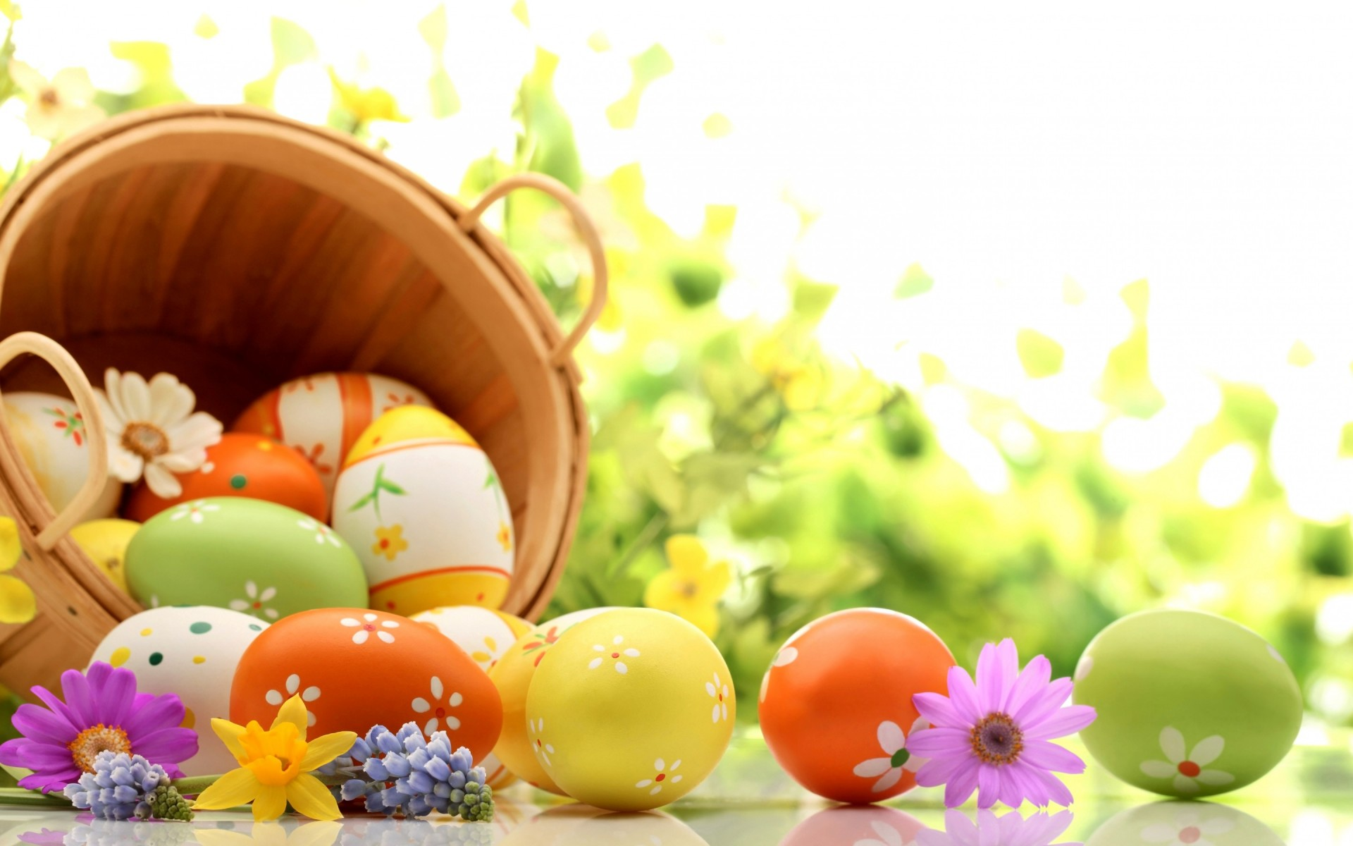 Happy Easter Eggs Wallpapers