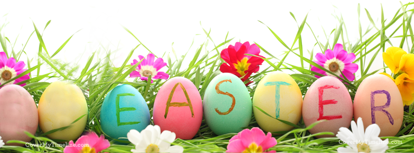 Happy Easter Facebook Cover Pictures