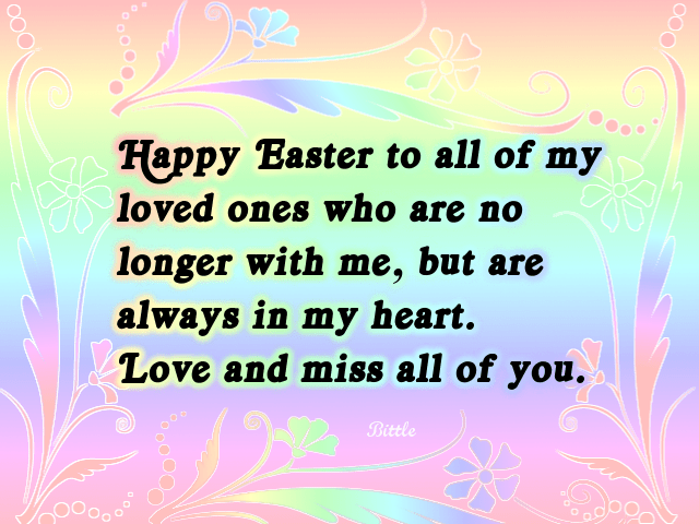 Happy Easter Wishes SMS