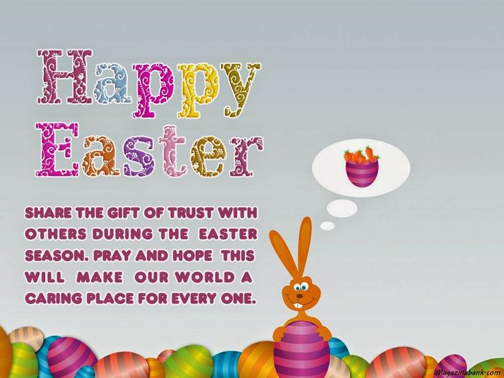 Happy Easter Wishes for Friends and Family