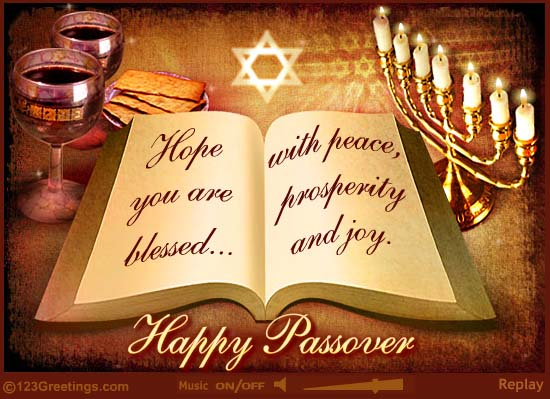 Happy Passover Greetings Wishes
