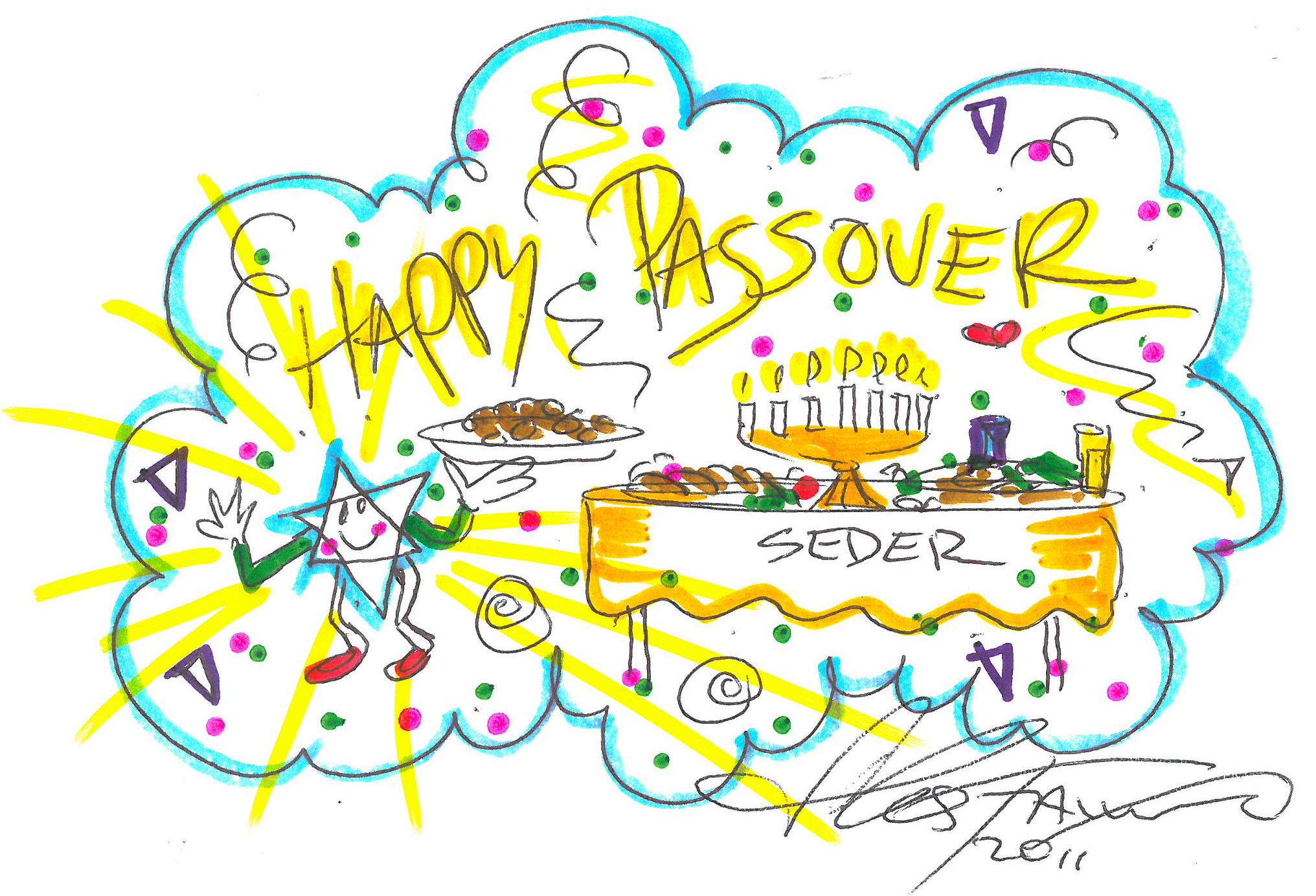 Happy Passover Wishes Cards