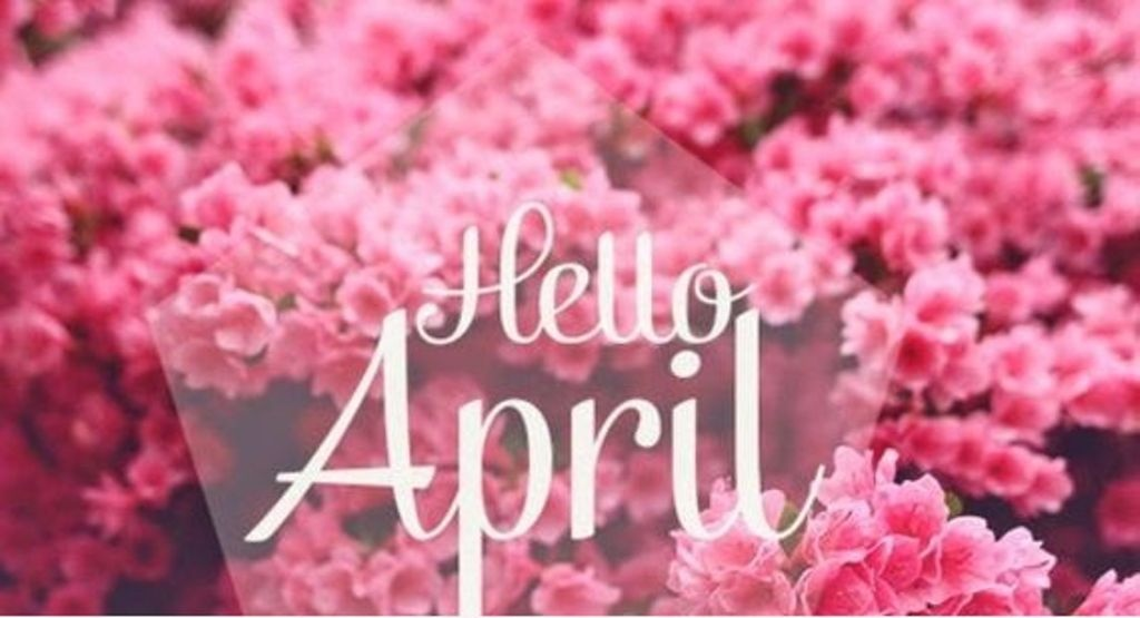 Hello April Images and Pictures