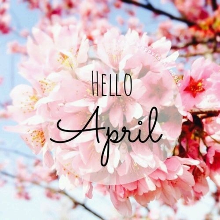 Hello April Images