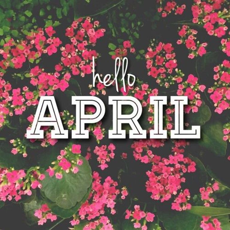 Hello April Pinterest