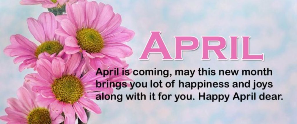 Hello April Quotes 2018
